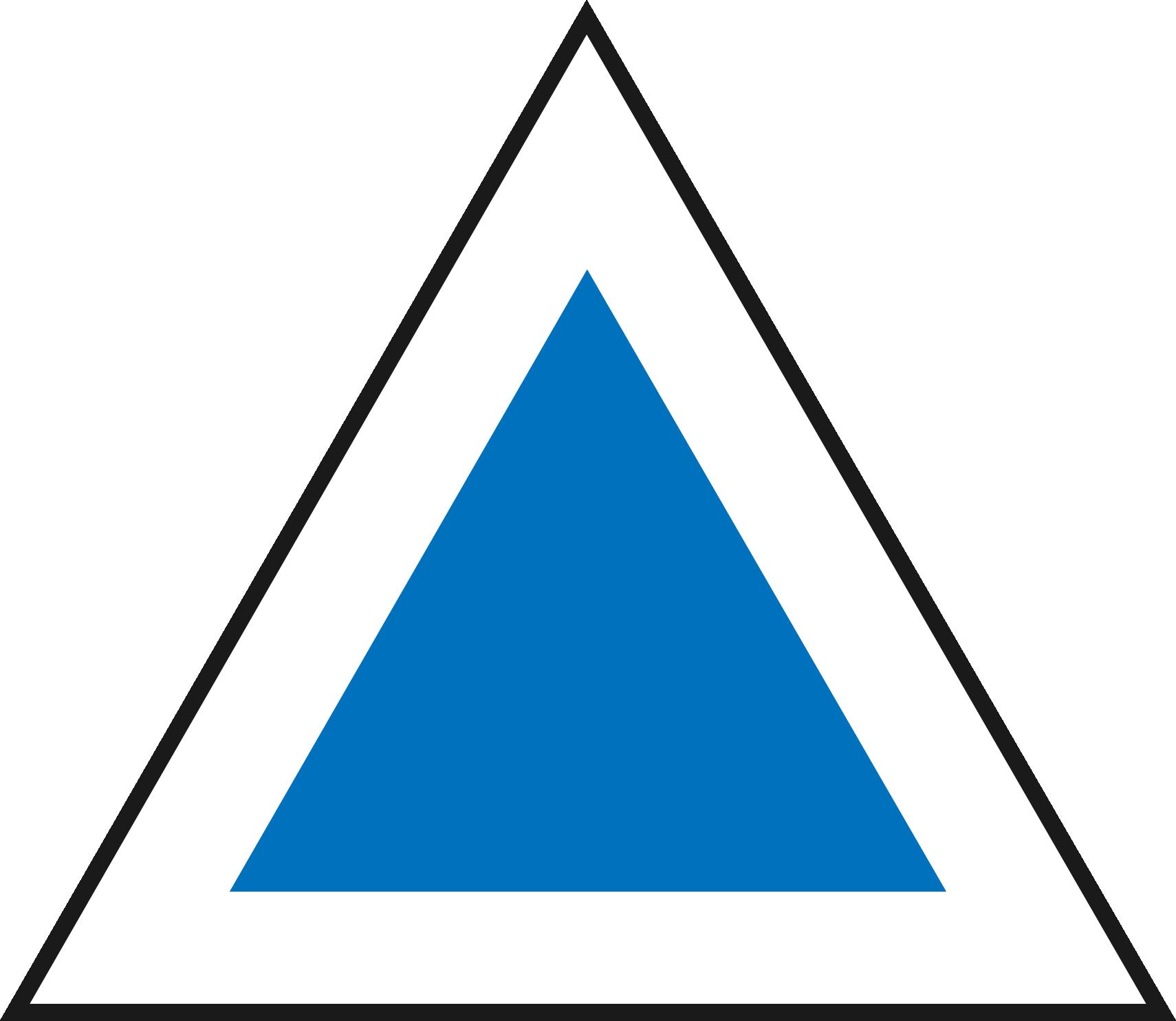triunghi albastru - Trai cu Rost